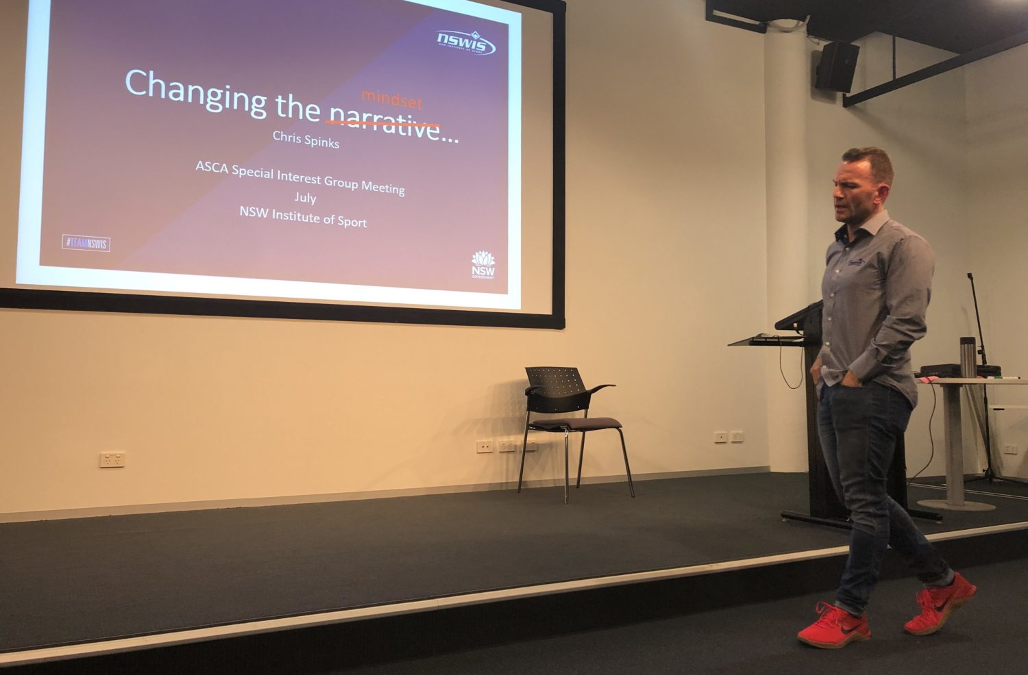 NSW Institute of Sport (NSWIS)   Expert presentations from