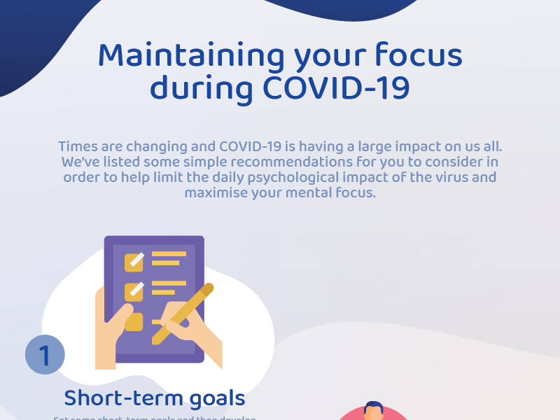 5 tips for maintaining your focus during COVID-19 Image