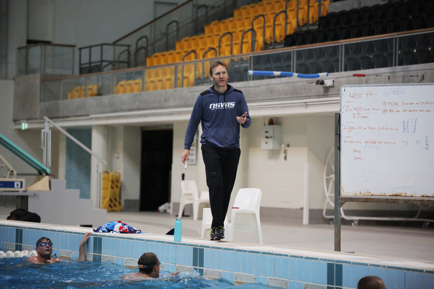 Expert advice for aspiring water polo players Image