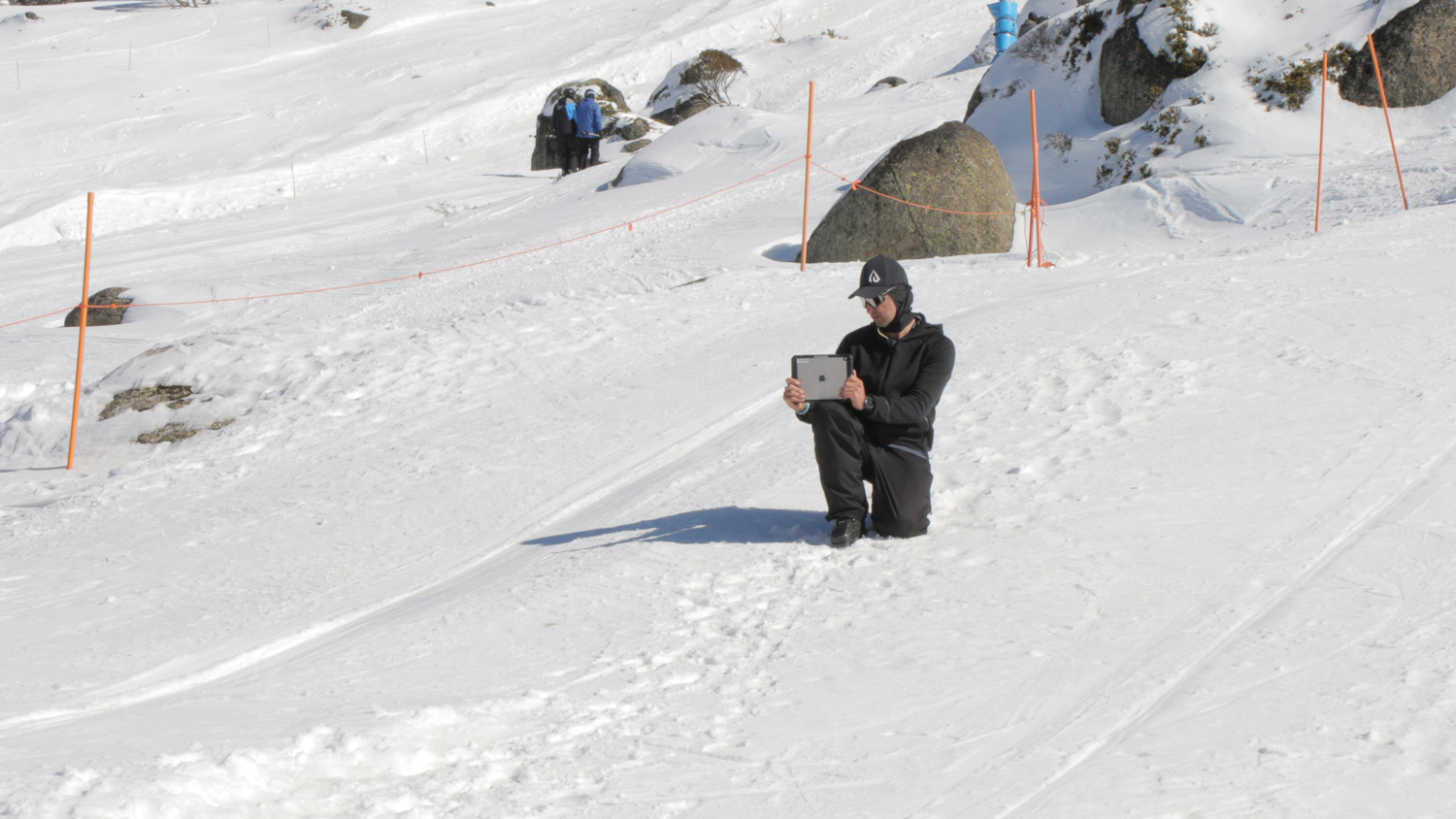 Expert advice for aspiring mogul skiers from Peter McNiel Image