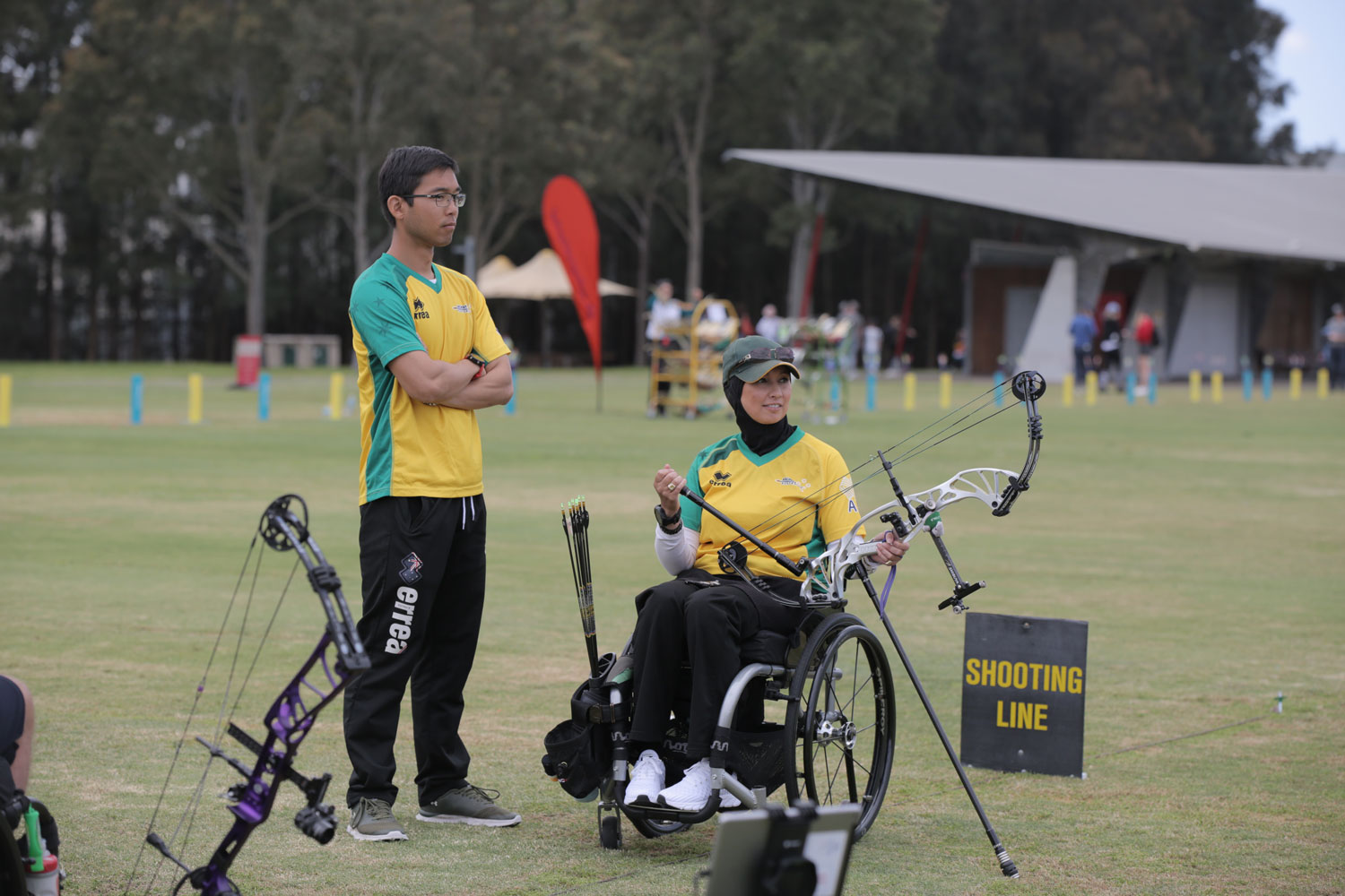 Expert advice for aspiring archers from Ricci Cheah Image