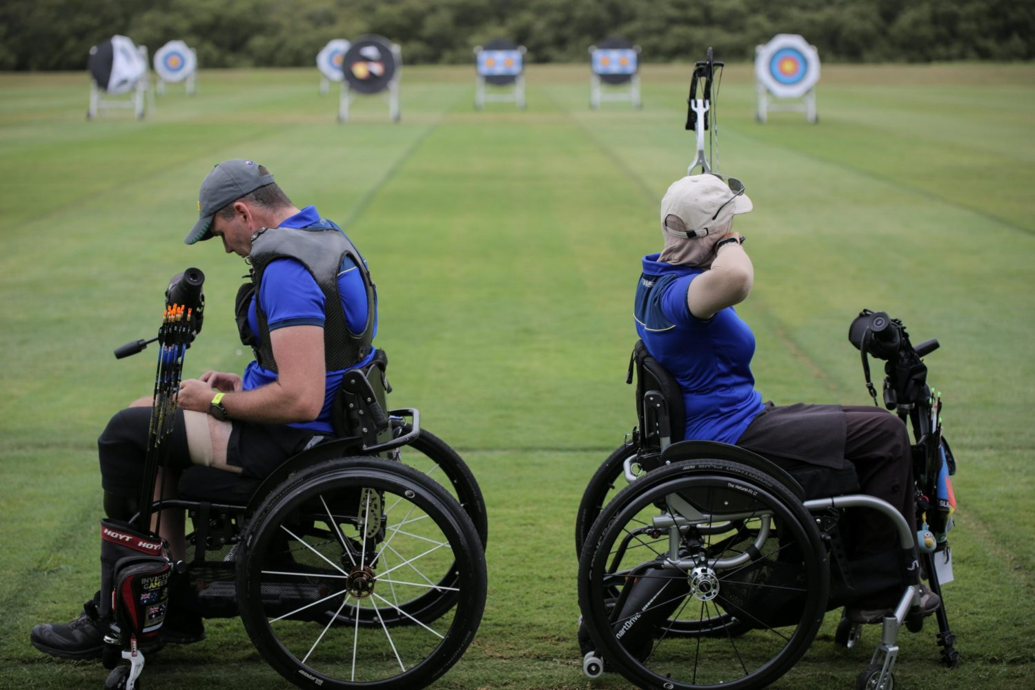 National championships conclude for NSWIS para archers Image