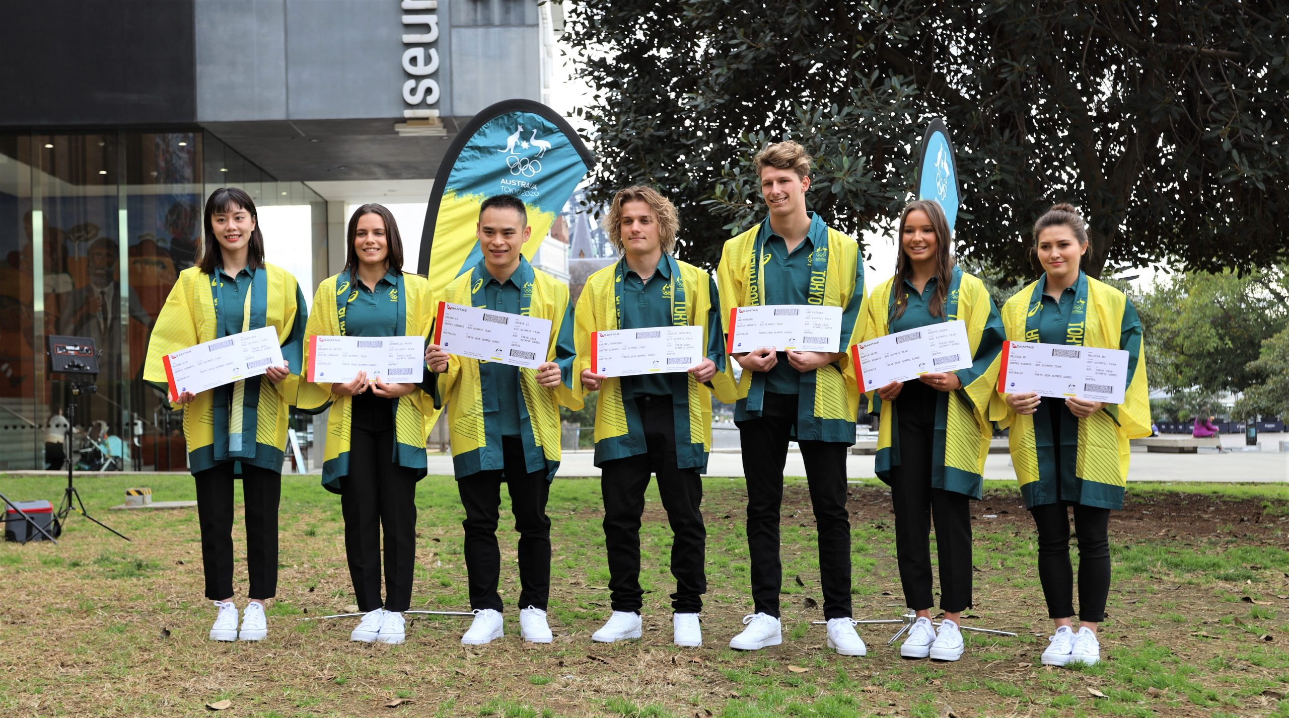 NSWIS Triple Threat named in Australia's Olympic diving team Image