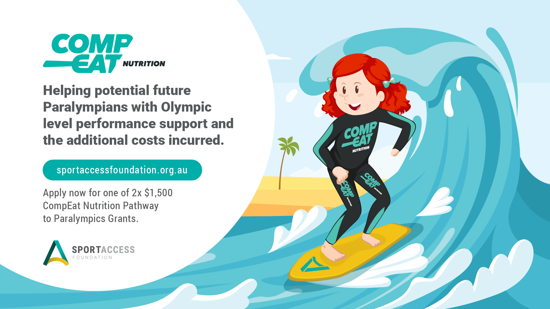 2 x $1500 Paralympic Grants Available Image
